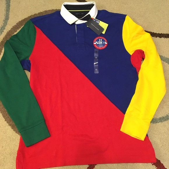 7789d33cfae Tommy Hilfiger Shirts | Sailing Longsleeve Colorblock Nwt | Poshmark